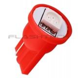 Flashtech T10 1 SMD Led bulb: Red