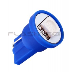 flashtech Flashtech T10 1 SMD Led bulb: Blue 1 SMD FTT10-1B