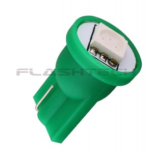 flashtech Flashtech T10 1 SMD Led bulb: Green 1 SMD FTT10-1G