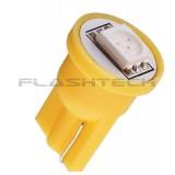 Flashtech T10 1 SMD Led bulb: Yellow