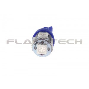 flashtech Flashtech T10 5 SMD Led bulb: Blue 5 SMD FTT10-5B