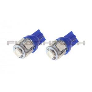 flashtech Flashtech T10 5 SMD Led bulb: Blue 5 SMD FTT10-5B