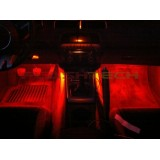 Flashtech fusion RGB Universal footwell lighting Kit