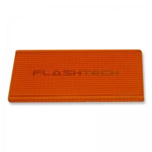 flashtech Colored Light Bar Lens Cover: 13in Amber Amber FTBLC-13O