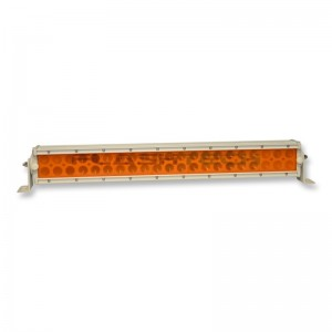 flashtech Colored Light Bar Lens Cover: 13in Amber Amber FTBLC-13O