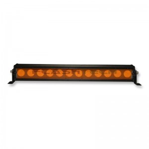 flashtech Colored Light Bar Lens Cover: 11in Amber Amber FTBLC-11O
