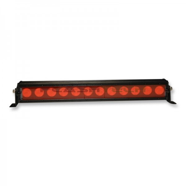 Colored light bar lens cover 52in red flashtech colored light bar lens cover 52in red red ftblc 52r aloadofball Gallery