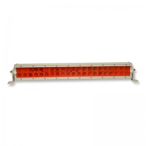 flashtech Colored Light Bar Lens Cover: 13in Red Red FTBLC-13R