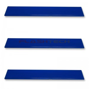 flashtech Colored Light Bar Lens Cover: 31in Blue Blue FTBLC-31B