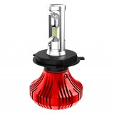 F4 LED Headlight Bulbs: H3 Bulb Size