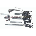 Flashtech Fusion Color Change Motorcycle LED Accent Kit: 12 strip kit