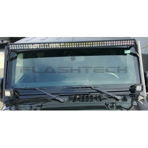 "flashtech Flashtech Jeep Wrangler Roof Mount Bracket 50-52"" Brackets FTB-JKRM50"