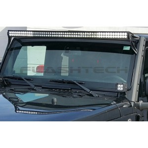 flashtech Flashtech BLACK LED Light Bar - Dual Row 52 inch Dual Row FT-B232452