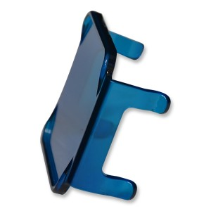 flashtech Colored Cube Fog Lens Cover: Blue Blue FTCF-LCB
