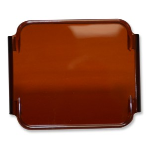 flashtech Colored Cube Fog Lens Cover: Amber Amber FTCF-LCO