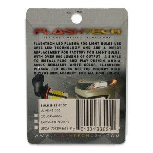 flashtech Flashtech 7.5W High Power LED for light bulbs: 3157 bulb size Plasma FTHPF-3157