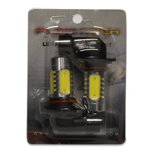 flashtech Flashtech 7.5W High Power LED fog light bulbs: H10 / 9145 bulb size PLASMA FTHPF-9005