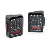 Flashtech JEEP JK LED Tail Light Assemblies