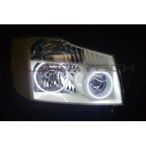 flashtech Flashtech V.3 Color Change Halo HEADLIGHT KIT for Nissan Titan (2004-2014) Titan NI-TI0414-V3H