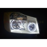 FLASHTECH White LED HEADLIGHT HALO KIT for Nissan Titan (2004-2014)
