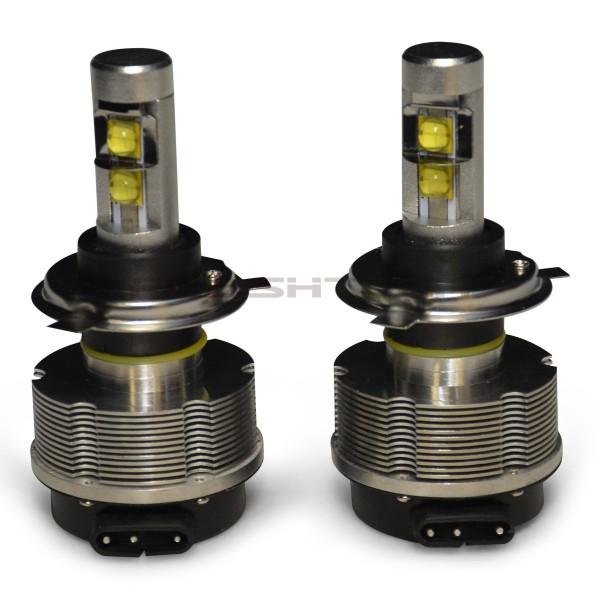 Headlight Bulb Size : Flashtech v plasma led replacement headlight bulbs h