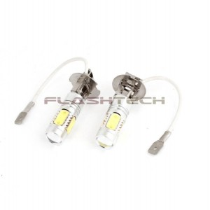 flashtech Flashtech 7.5W High Power LED Fog light bulbs: H3 bulb size PLASMA FTHPF-H3