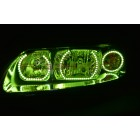 Volvo S60 V.3 Fusion Color Change LED HALO HEADLIGHT KIT (2005-2009)