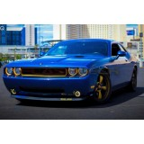 Dodge Challenger V.3 Fusion Color Change External Waterproof LED Halo HeadLight Kit 2008-2014