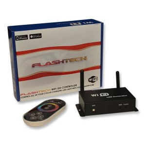 flashtech Flashtech Fusion RGB WIFI Controller Color Changing FTLED-WIFI