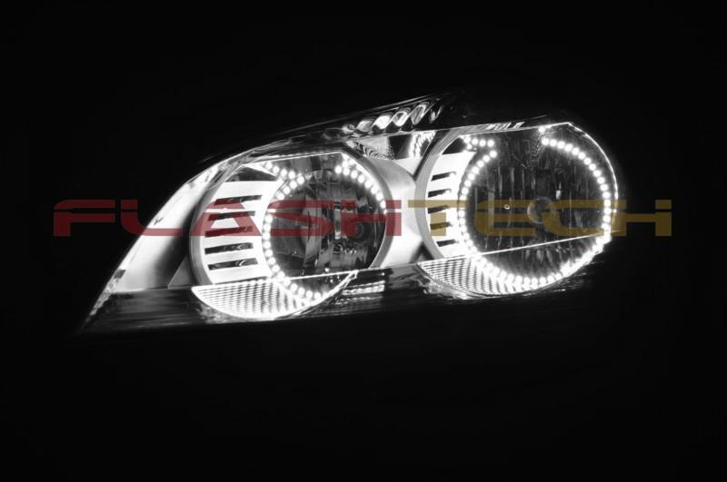 Bright White LED Headlight Halo Ring Kit for Chevrolet Traverse 09-12