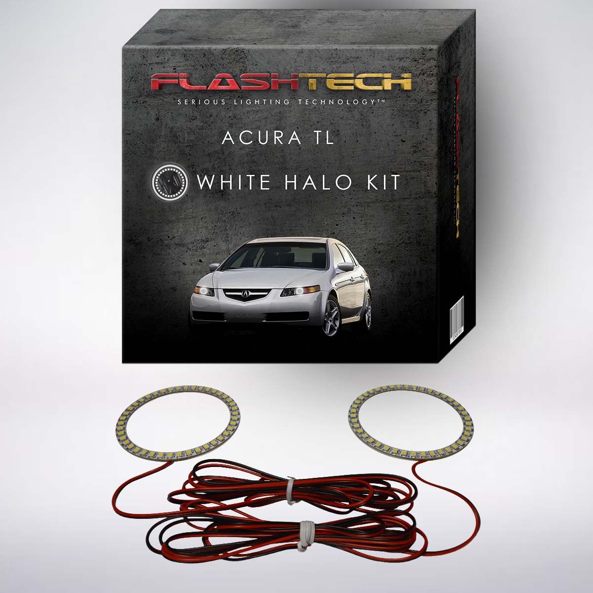 Acura TL 04-08 CHS Bright White LED Headlight Halo Ring